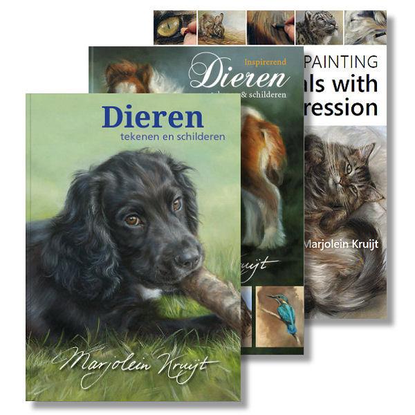 Books by animal and wildlife artist Marjolein Kruijt