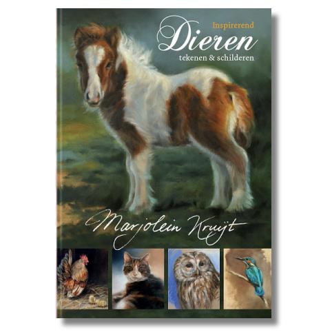 boek inspirerend dieren tekenen en schilderen Marjolein Kruijt