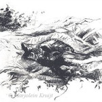 'Autumn', lithography