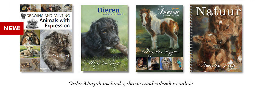 Available books, diaries and calenders by Marjolein Kruijt