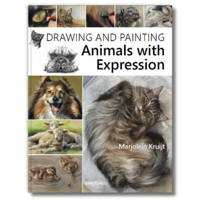 BOOK-painting and drawing animals with expression by Marjolein Kruijt