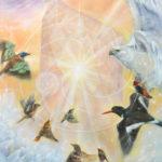 'Illumined I',120x80 cm, Marjolein Kruijt - Animal Symbolism