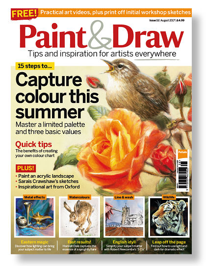 Paint & Draw magazine august 2017 - Marjolein Kruijt