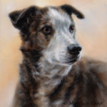 'Linda', 40x30 cm, oil painting (sold/commission)