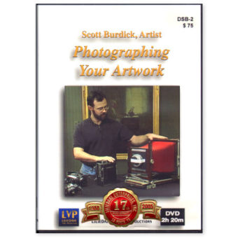 dvd scott-burdick-dvd-photographing-your-artwork