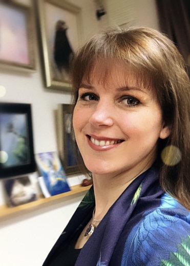 Artist and illustrator Marjolein Kruijt