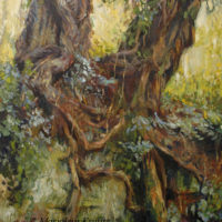 'Fairy trees', 90x120 cm, oil painting (NFS)