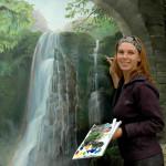 Muralist artist Marjolein Kruijt