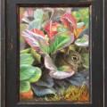 'Little rabbit', 24x18 cm, oil painting (for sale)
