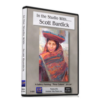 dvd scott-burdick-dvd-in-the-studio-with-DVD