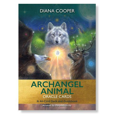 Archangel Animal Oracle Card deck - Diana Cooper & Marjolein Kruijt cover