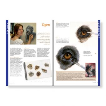 Article 4 pages - how to paint animal eyes in acrylic PDF