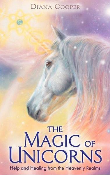 Boek Magic of Unicorns - cover illustrator Marjolein Kruijt, auteur Diana Cooper