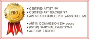 Certified artist and art teacher animal art -Marjolein Kruijt
