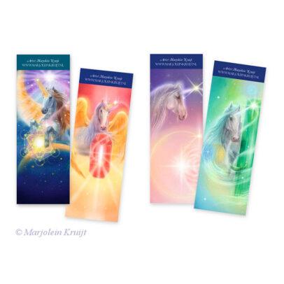 Bookmarks Unicorns by Marjolein Kruijt