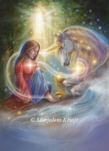 (04) uncord-relationships - Unicorn oracle card