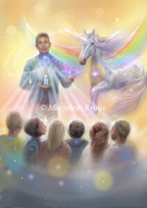 (12) freedom of truth - speak your truth with the help of unicorns illustration