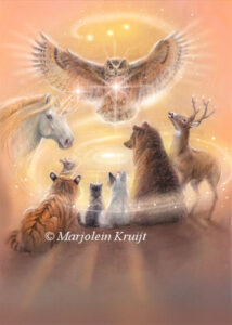 (20) wisdom bath - cosmic pool with christlight -illustration