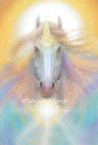 (16) soul healing with the unicorns -illustration / artwork